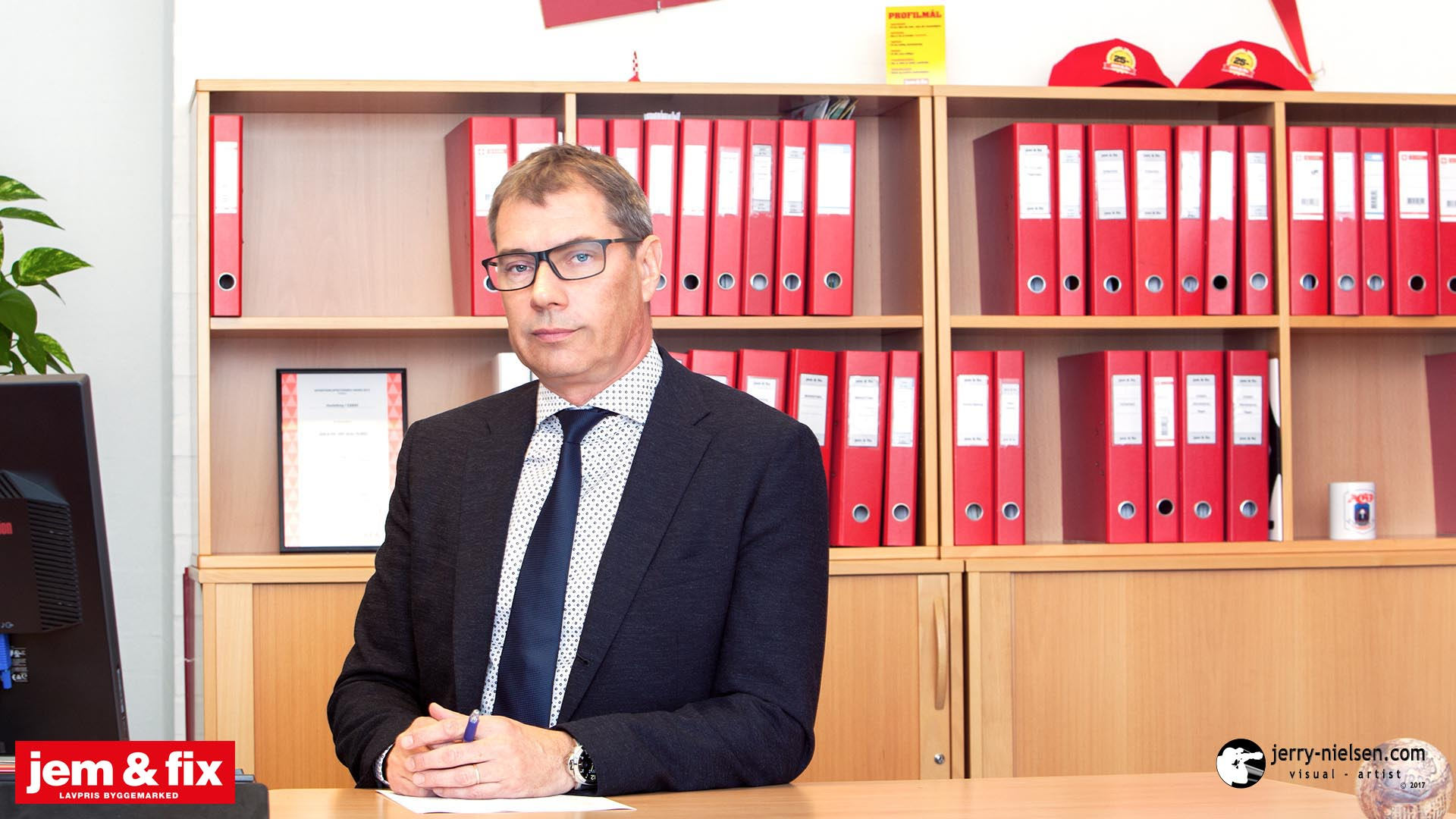 Claus Petersen, Director of Sales at jem & fix