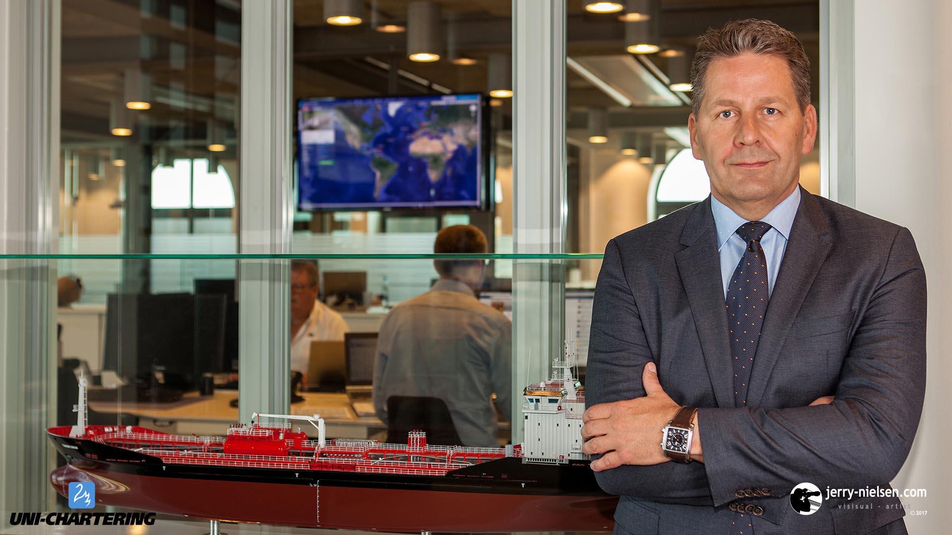 Per Ekmann, CEO of Uni-Chartering