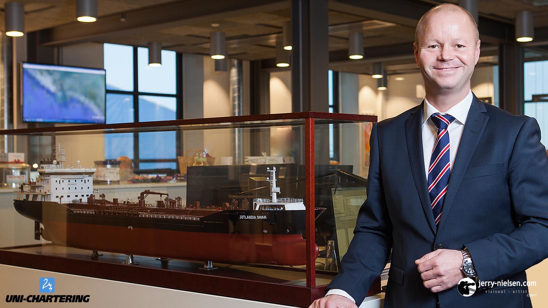 Torben Andersen, CEO of Uni-Tankers