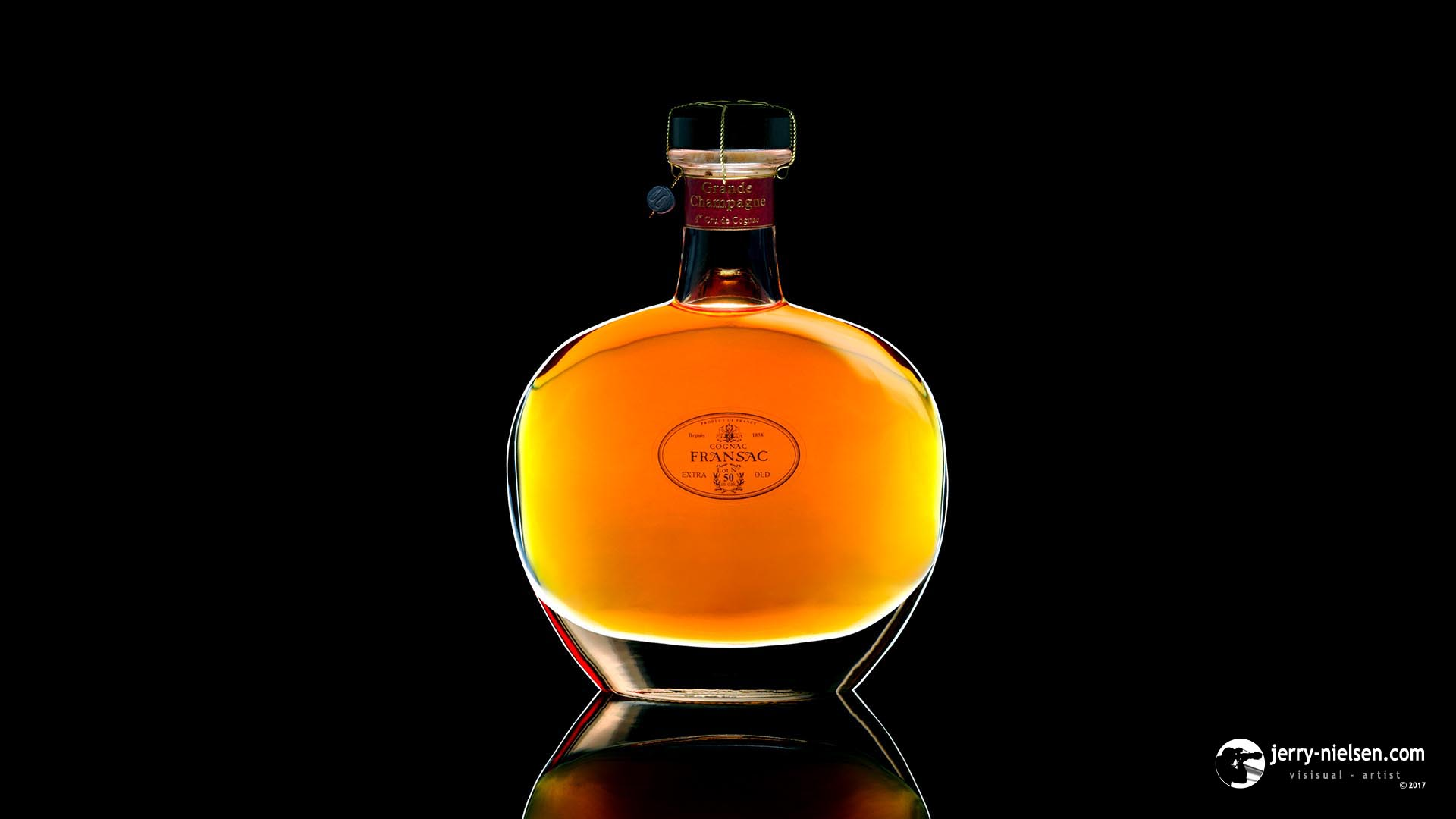 Fransac Cognac Bottle