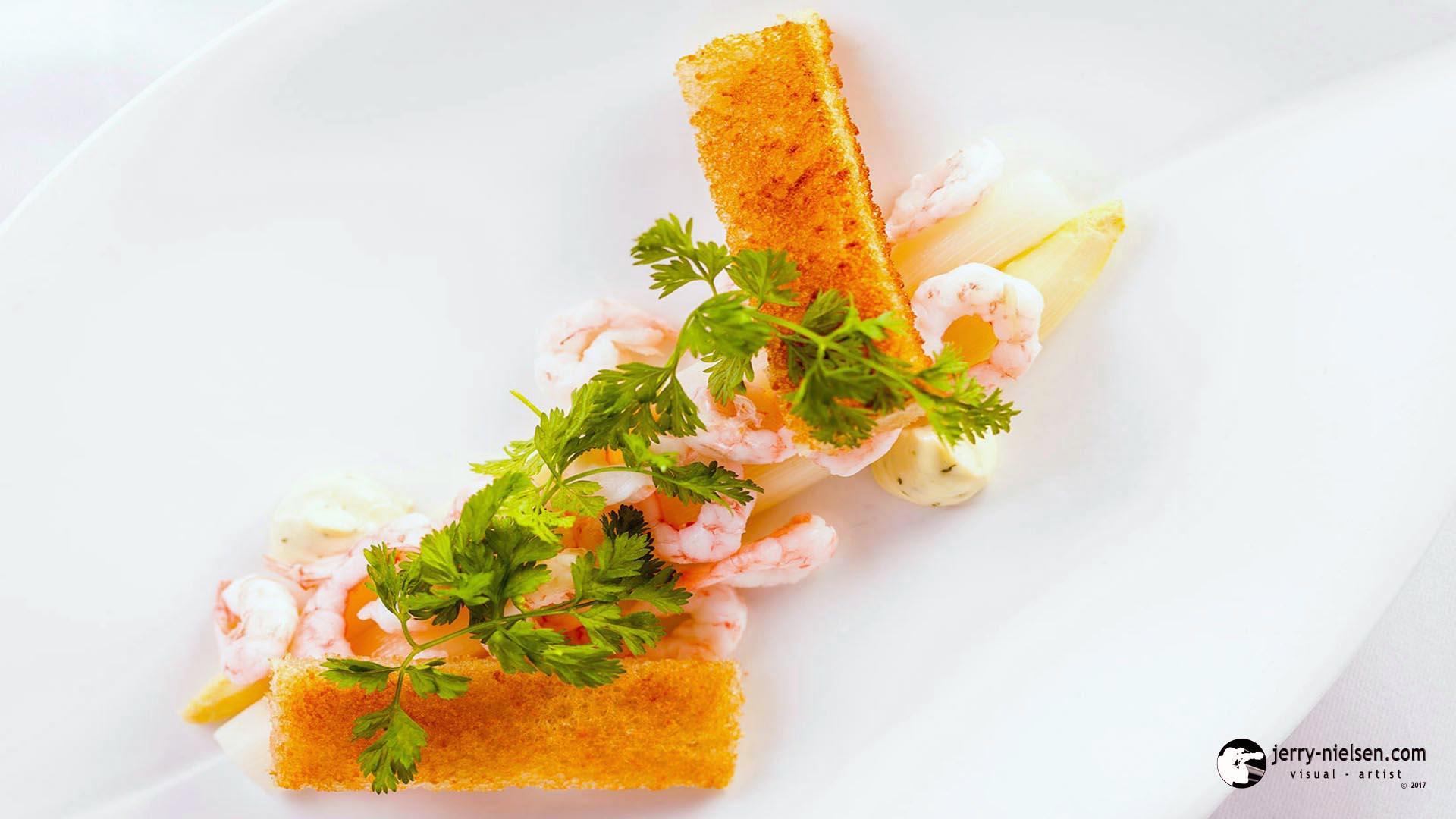 Fresh Prawns with Asparagus