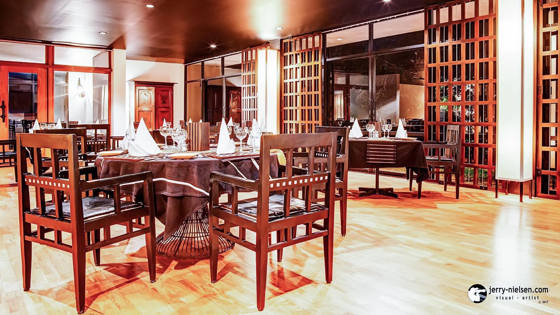 Kandalama Hotel Restaurant.