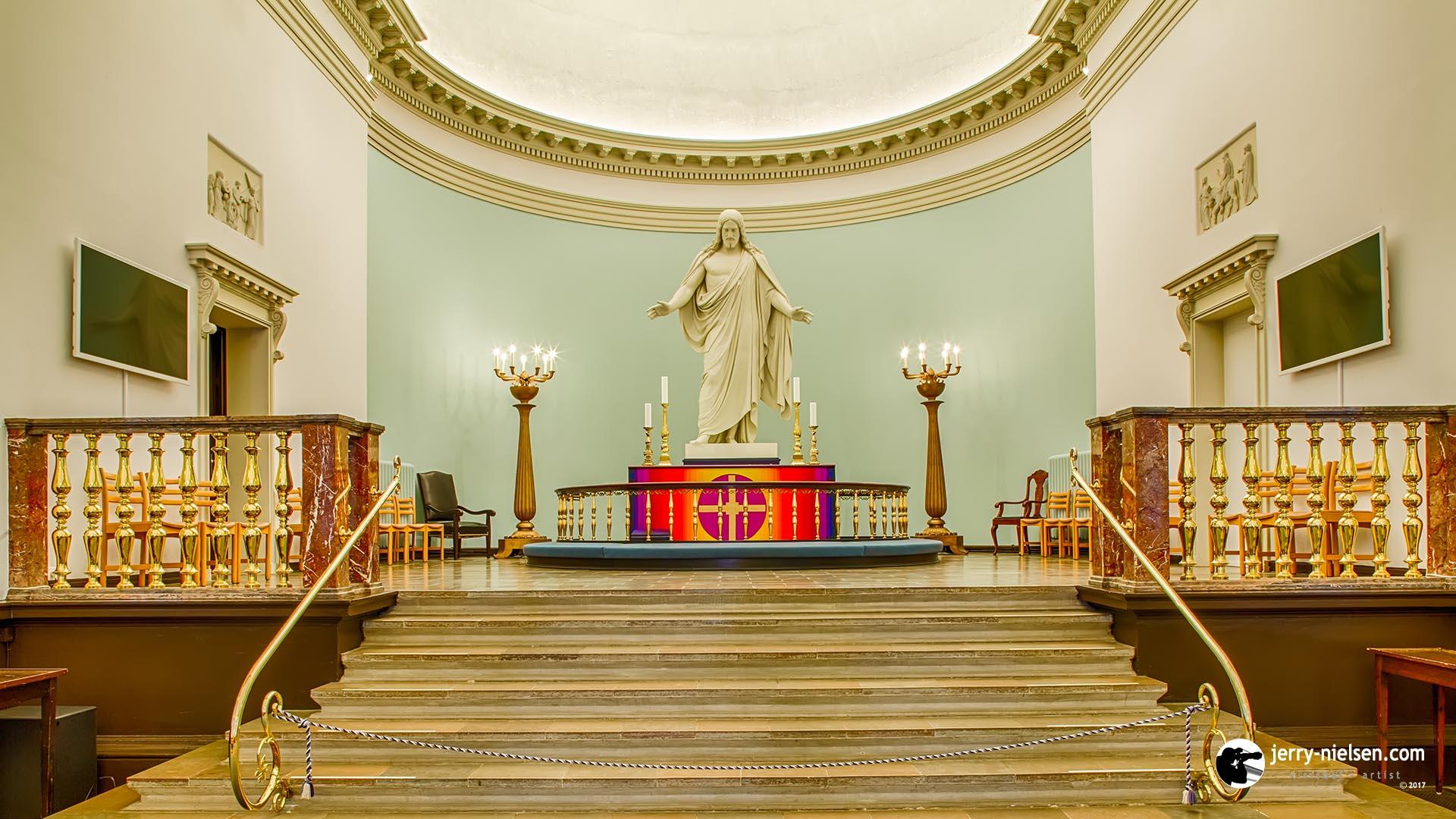 Kirstkirken Kolding Altar, shot in HDR.