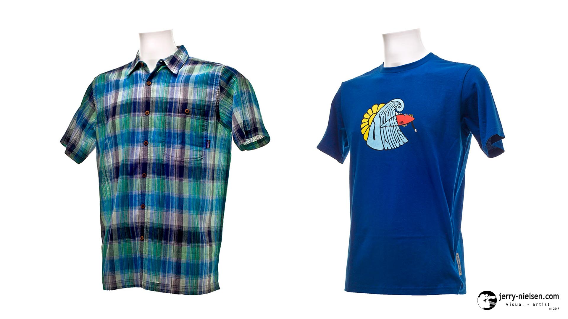Male Patagonia Shirt and T-shirt