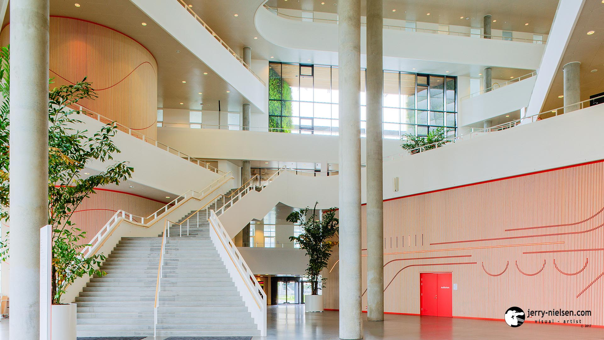 University of Southern Denmark, Mian Stairway Inside