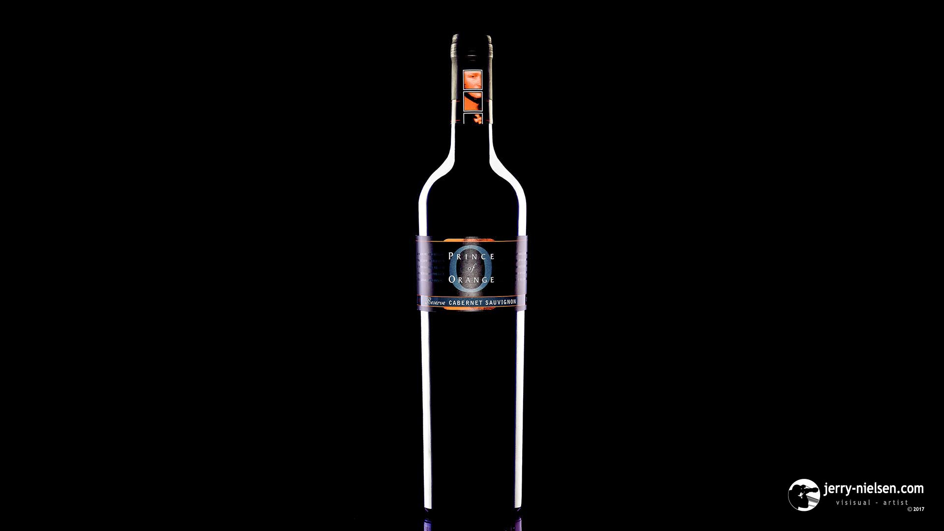 Prince of Orange, Red Wine Bottle