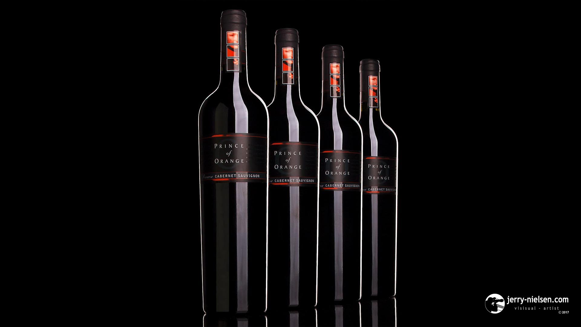 Prince of Orange Red Wine Bottles
