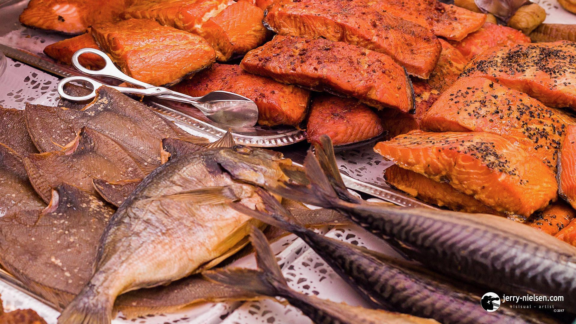 Various Smoked Fish