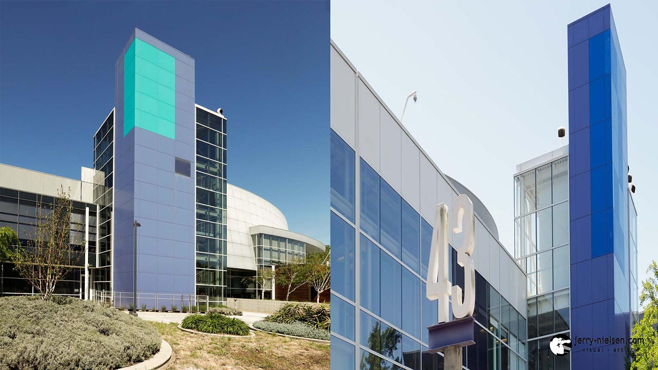 Different types of architecture at Googleplex
