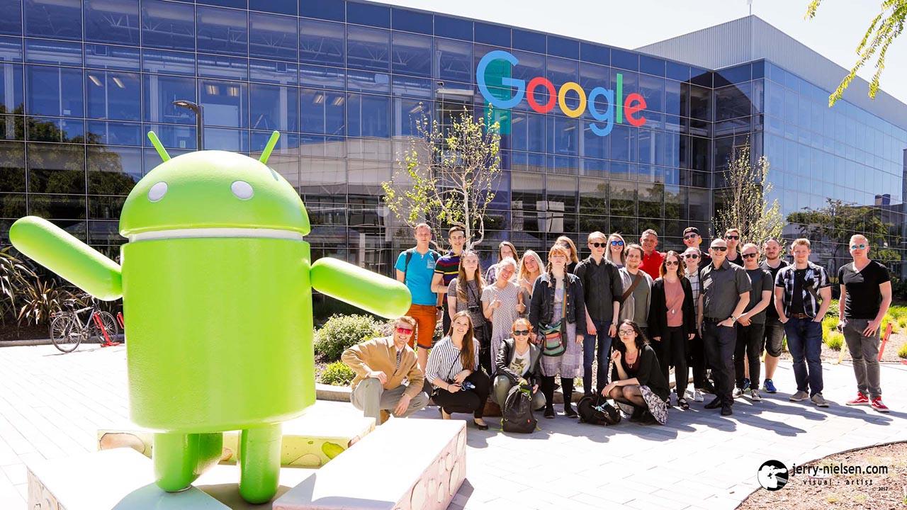 IBA Study-trip at Googleplex