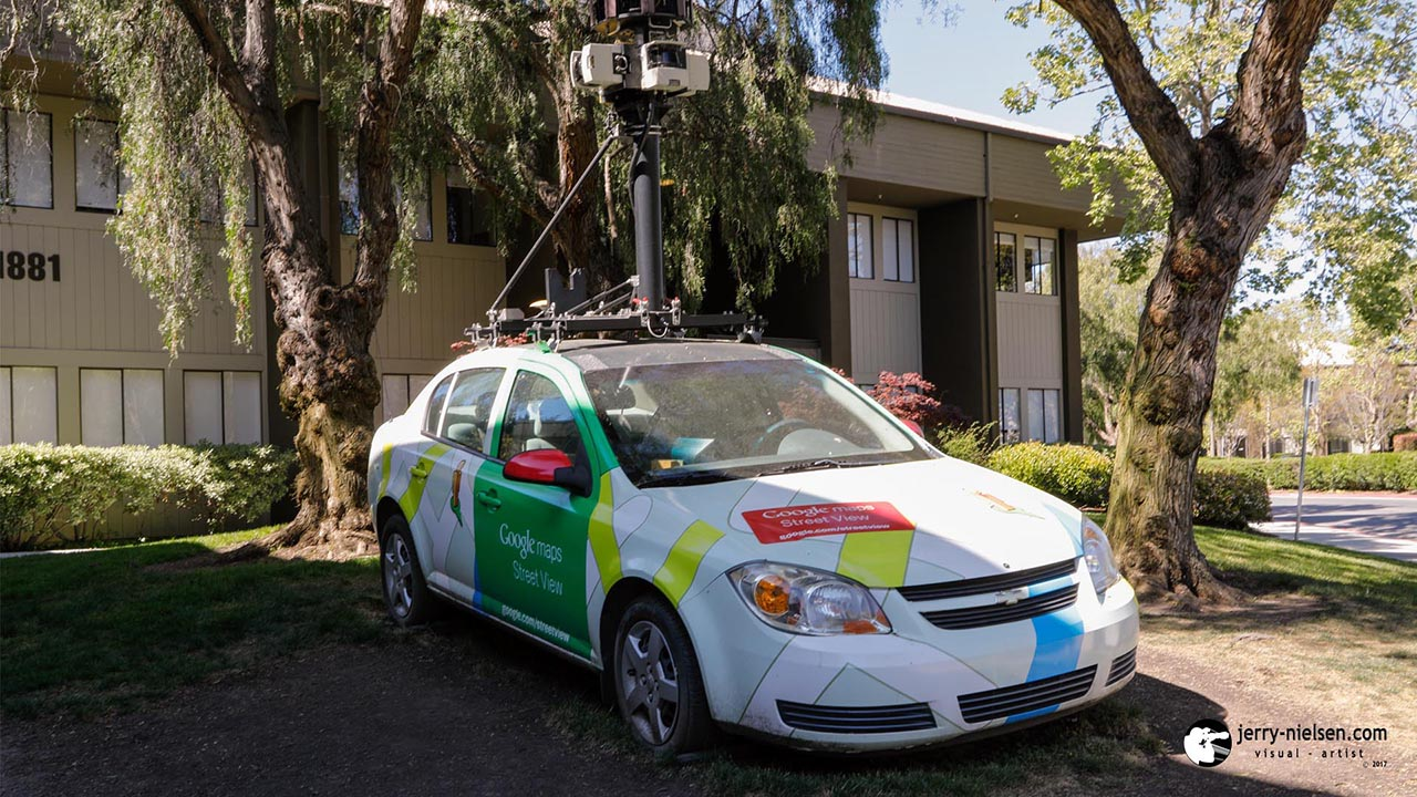 Google Maps Car