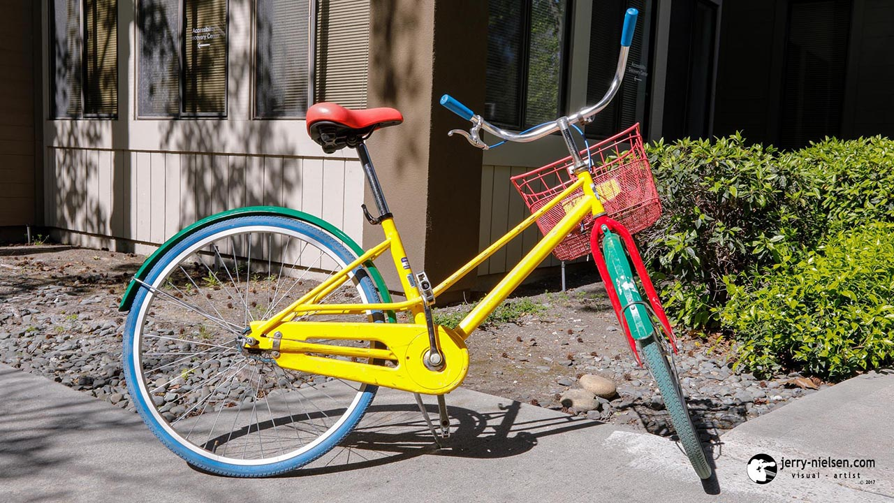 Google bike, to ride around Goolgeplex.