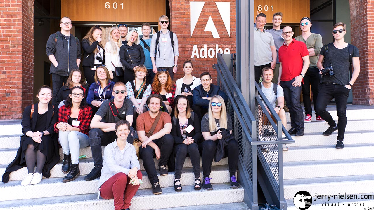 IBA Studytrip at Adobe offices in San Francisco