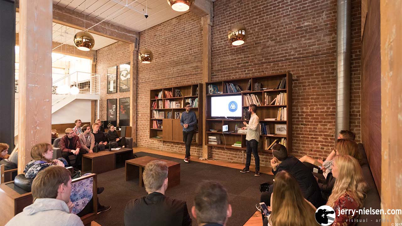 Method Talk to IBA Kolding students at their San Francisco offices.